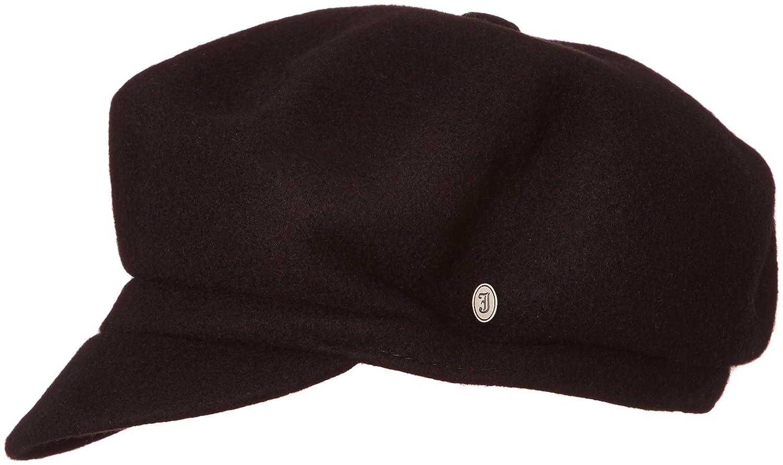 Village Hats Men s Jaxon Hats Wool Baker Boy Hat - Black Flat Cap Flat Cap 30f520fe5d0