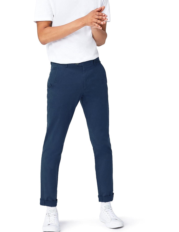 TALLA 30W / 32L. find. Pantalón Slim Estilo Chino para Hombre