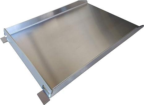 Grillrost.com Parrilla | Plancha Acero Inoxidable V2A Diferentes tamaños, Tamaño :Napoleon Rogue 45x30