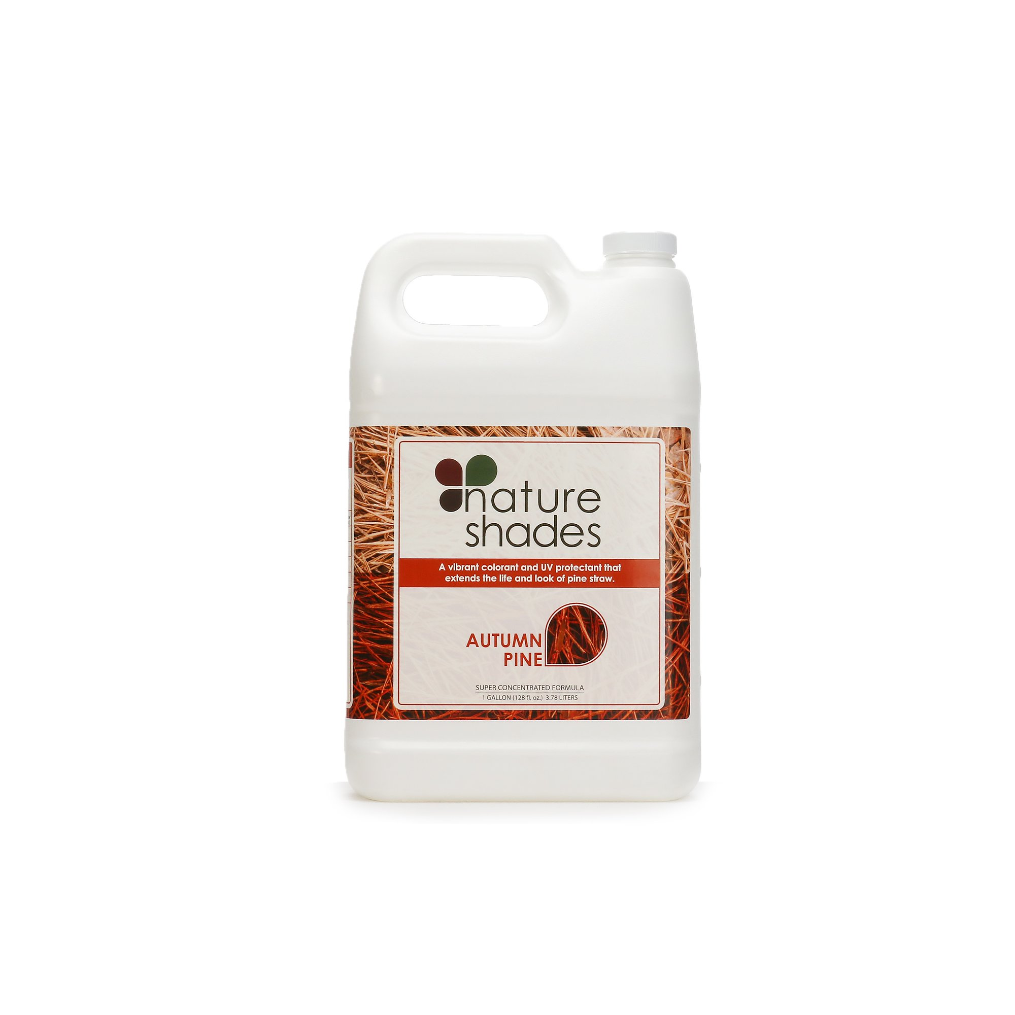 Nature Shades 1 Gallon Pine Straw Colorant Southern Pine Autumn Pine Pigment Dye (Autumn Pine) by Nature Shades