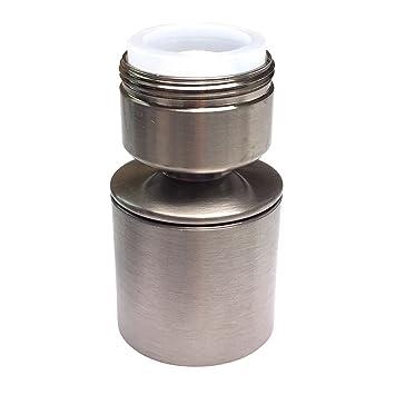 waternymph hibbent dual function 2 flow kitchen sink sprayer aerator water saving faucet. Interior Design Ideas. Home Design Ideas