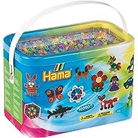 DKL Hama Beads 10000 Pastel Colour Beads (Midi Beads)
