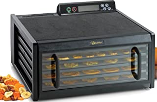product image for Excalibur 3548CDB Electric Food Dehydrator Features Adjustable Thermostat and Digital 48-Hour Timer Faster and Efficient Drying, 5-Tray, Black