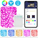 Minger 16.4-Foot App-Controlled Dimmable 50-LED Fairy String Lights