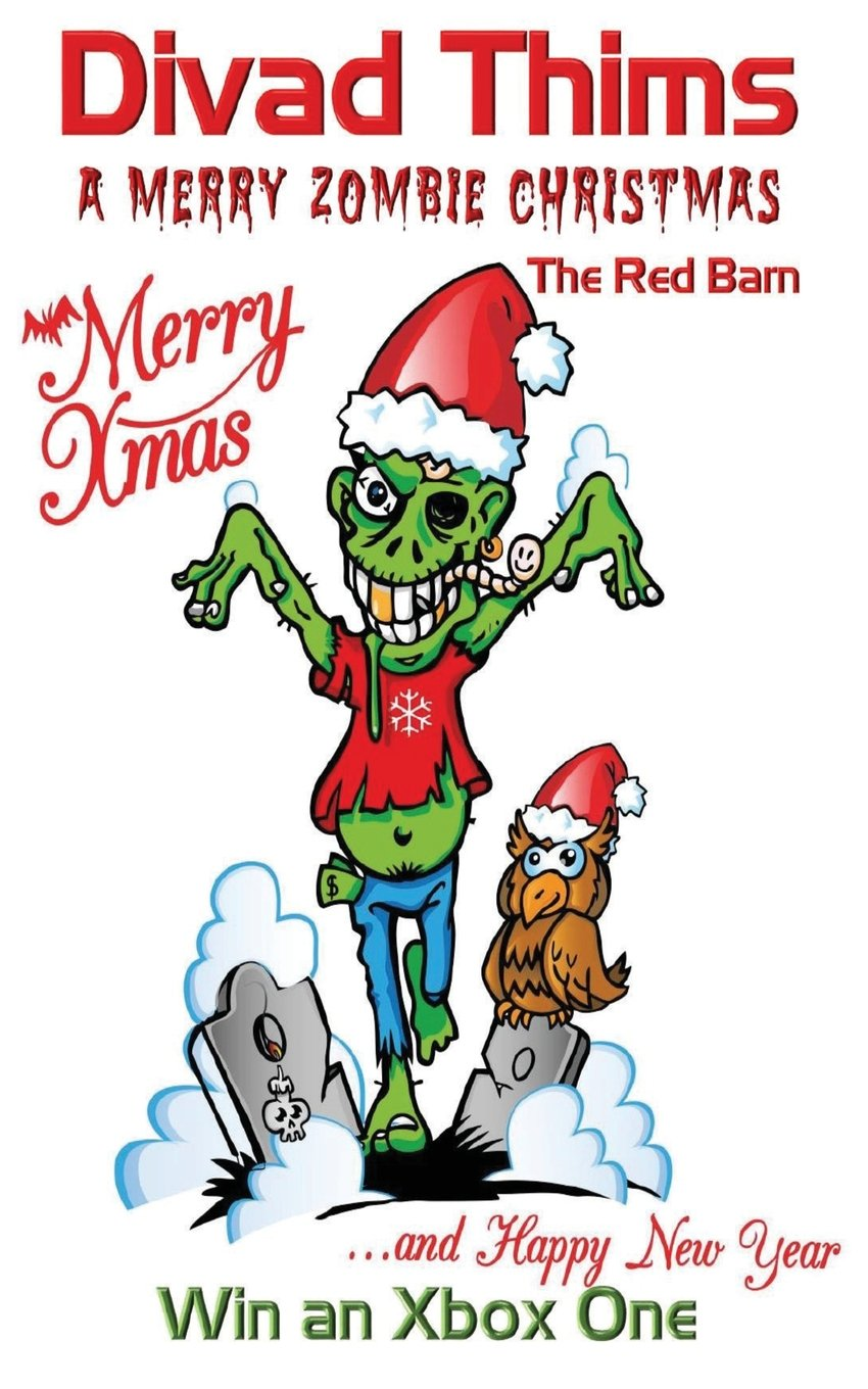 Amazon.com: A Merry ZOMBIE Christmas: The red Barn (9781912039678 ...