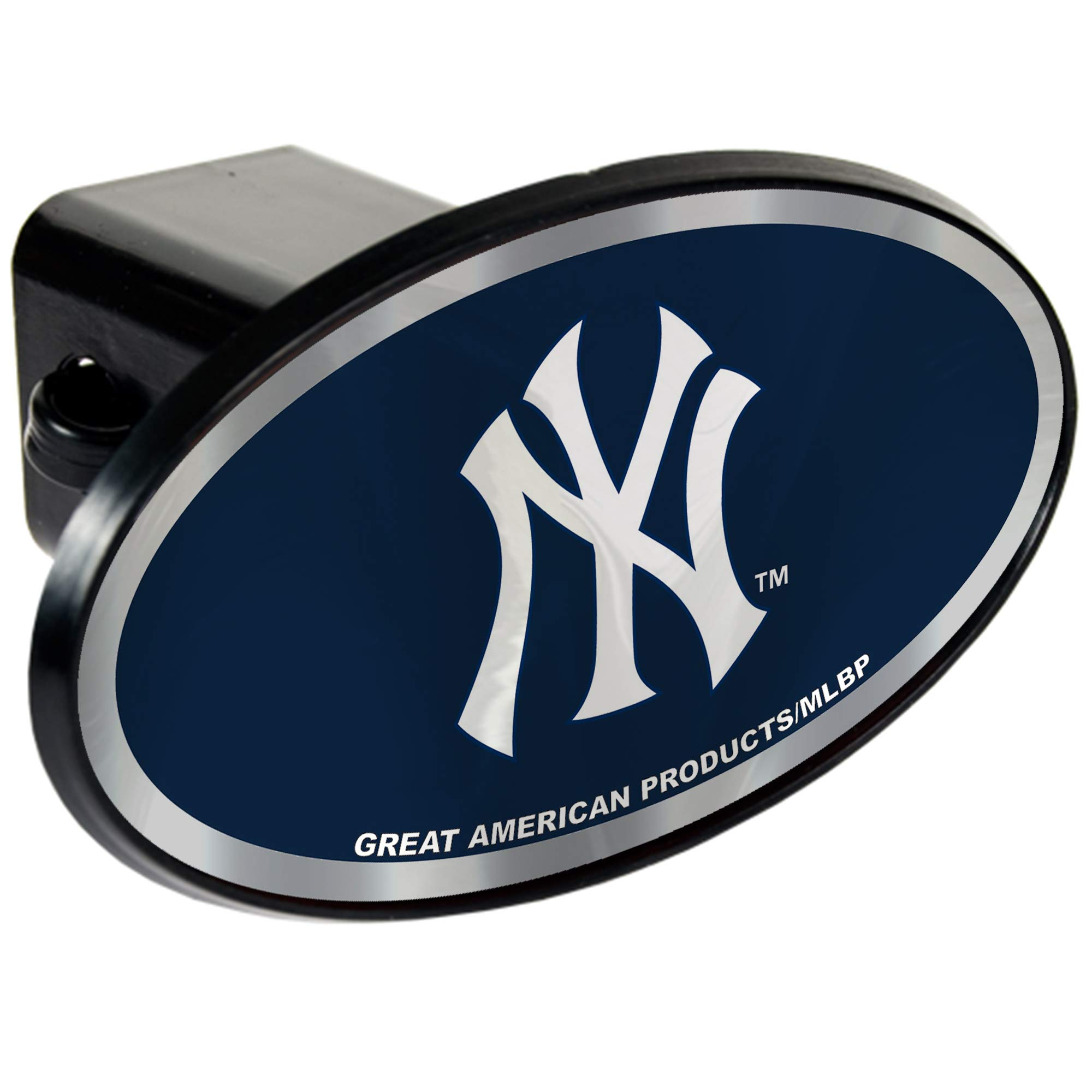 New York Yankees 2'' MLB Trailer Hitch Receiver Cover - ABS Plastic by Quality Hitch Covers