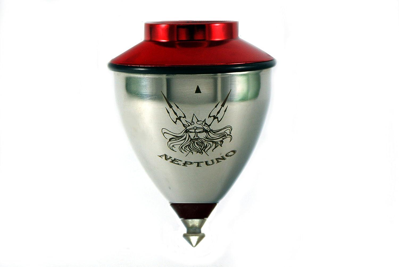 Trompo peonza Neptuno Roller Original - Tapa roja.: Amazon.es: Juguetes y juegos