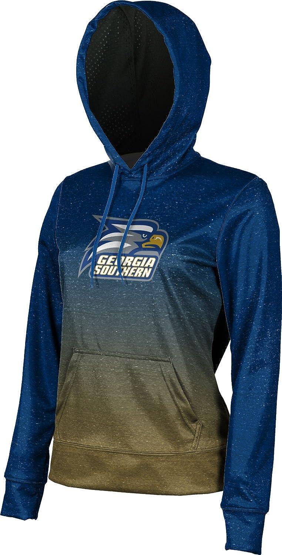 Ombre Georgia Southern University Girls Pullover Hoodie School Spirit Sweatshirt