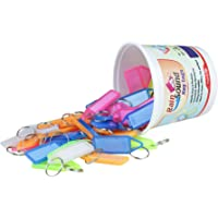 RainSound Multicolor Keyring & Keychain(Pack Of 50)