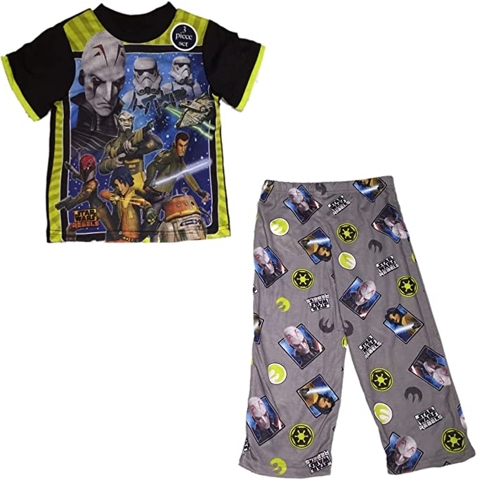 Star Wars Rebels Big Boys 2 Piece Pajama Set 4-10