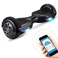 """6.5"""" Premium Self Balance Scooter Bluewheel HX310s – Deutsche Qualitäts Marke - Kinder Sicherheitsmodus & App – Bluetooth Lautsprecher – Starker Dual Motor – LED - Elektro Skateboard E-Board Hover"""