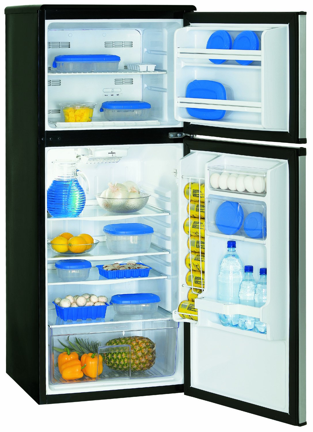 Amazon.com: Danby 9.1 cu.ft frost free refrigerator (Black ...