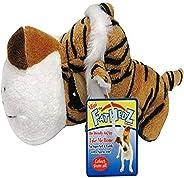 Boss Pet Mini FatHedz Plush Mini Tiger Dog Toy