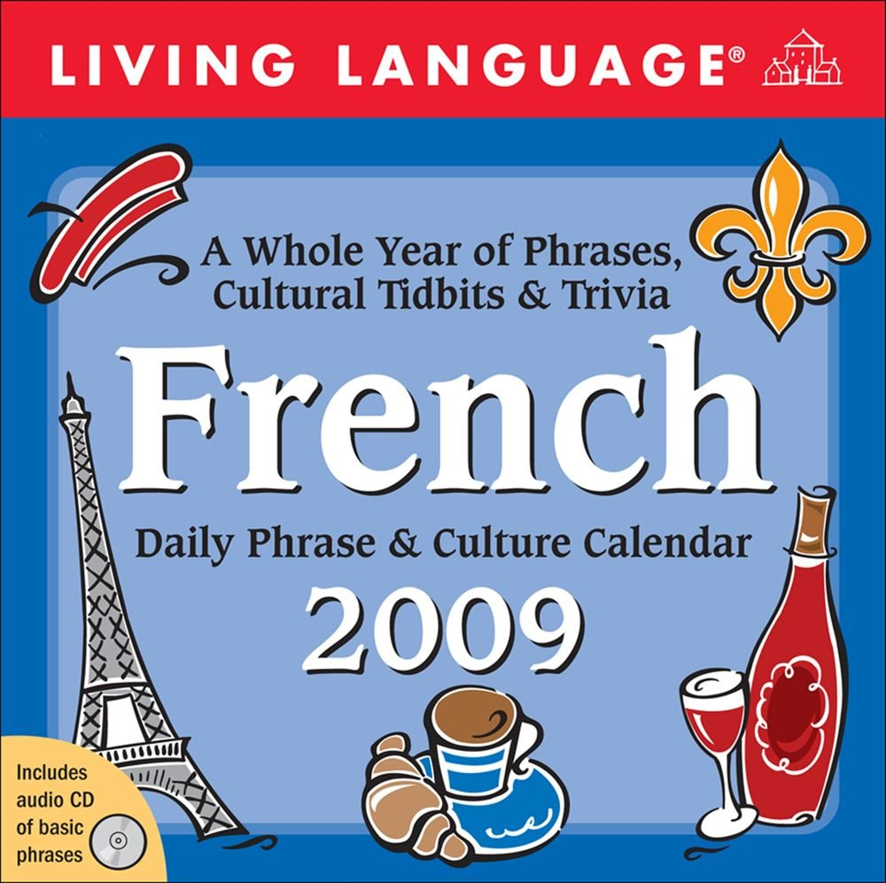 Amazon | Living Language French: 2009 Day-to-Day Calendar | LLC Andrews  McMeel Publishing | Words & Language