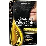 Kéranove Oléo Color Coloration 1 Noir Obscur 0,20 kg