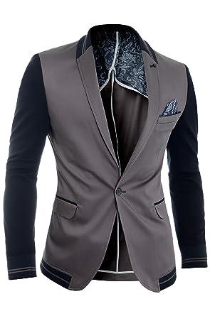 D R Fashion Cipo   Baxx Herren Blazer Jacke Beiläufig Formal Slim Fit  Sommer College-Stil 970bc418dc
