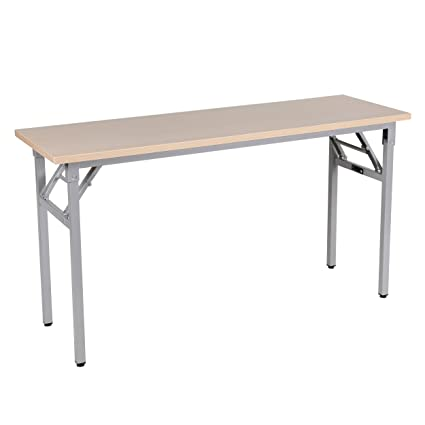 Amazoncom Sunon Training Table Rectangle Folding Table Office - Adjustable training table