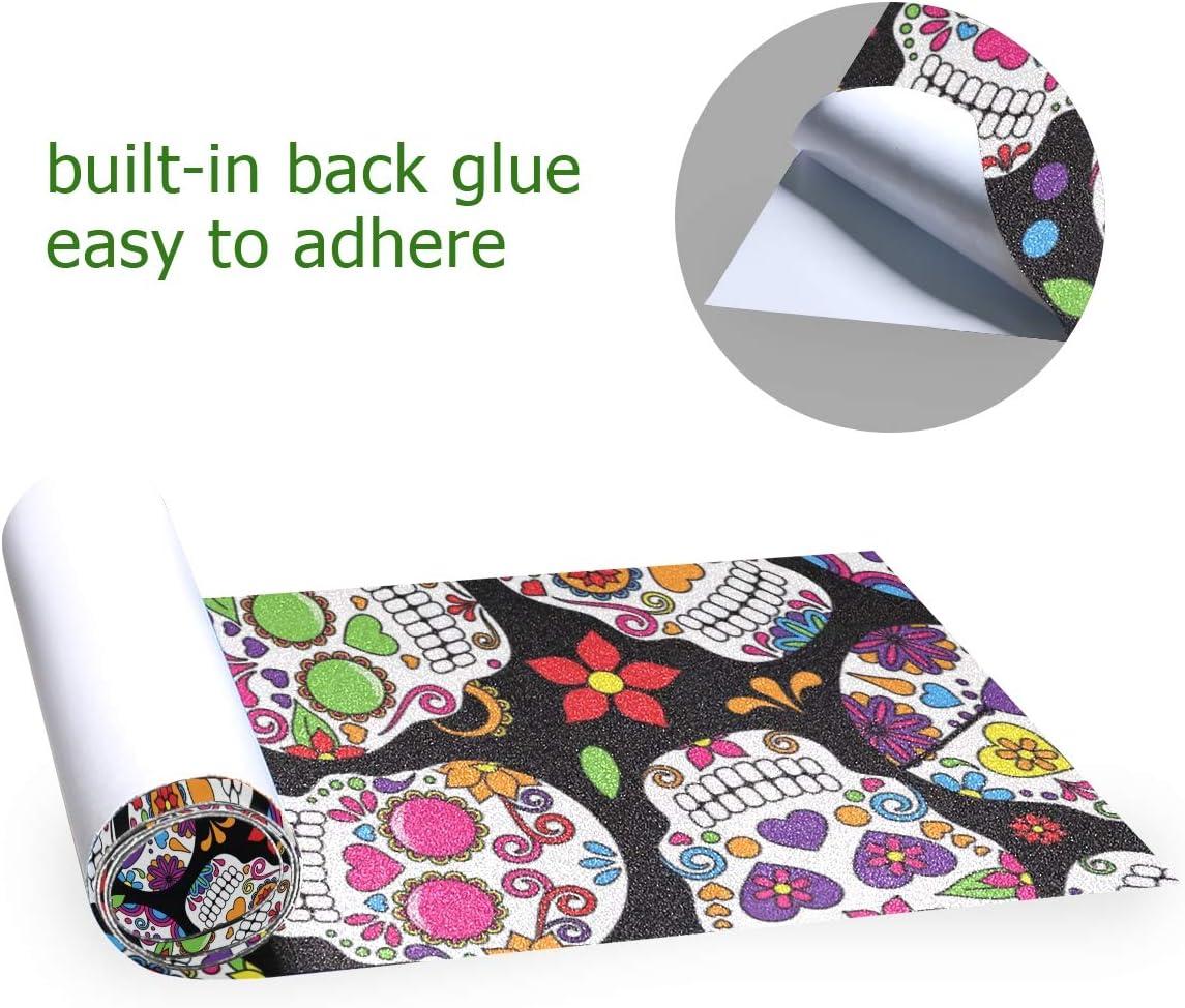 senya Cartoon Shark Skateboard Grip Tape Sheet Sandpaper