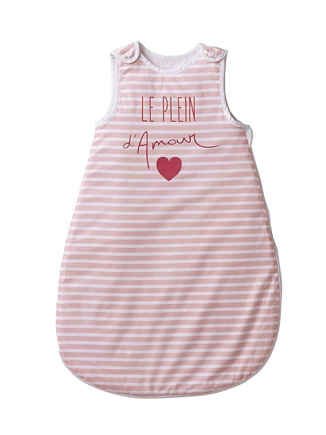 Vertbaudet saco especial verano el Plein de amor rosa Rose imprimé Talla:70: Amazon.es: Bebé