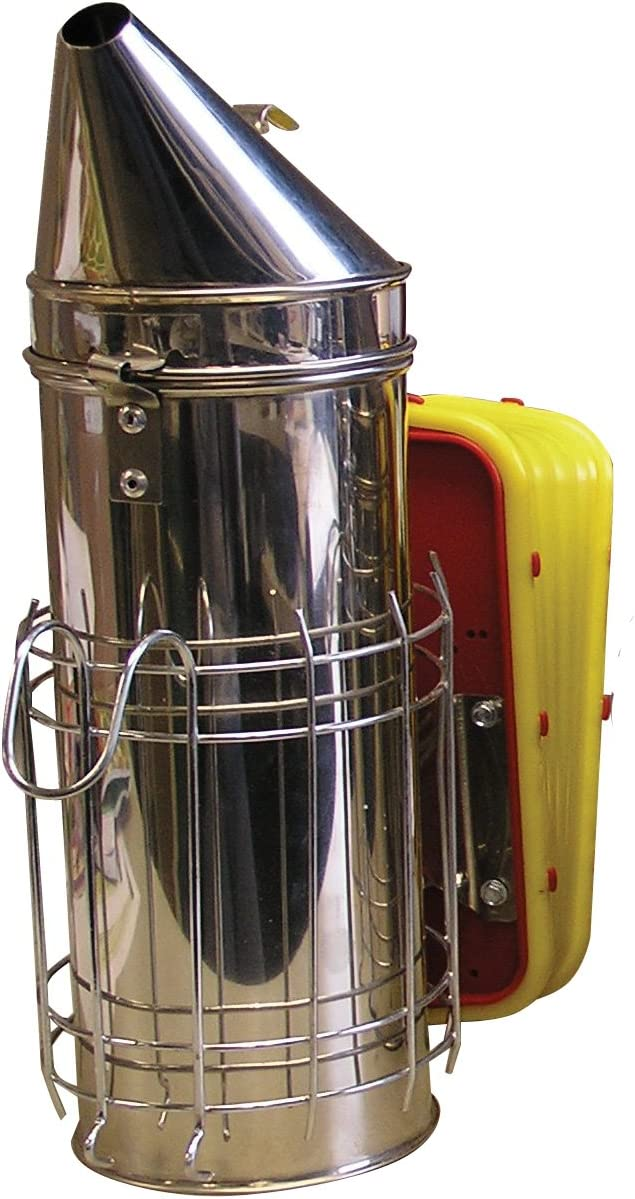 Mann Lake HD540 Stainless Steel Smoker with Guard