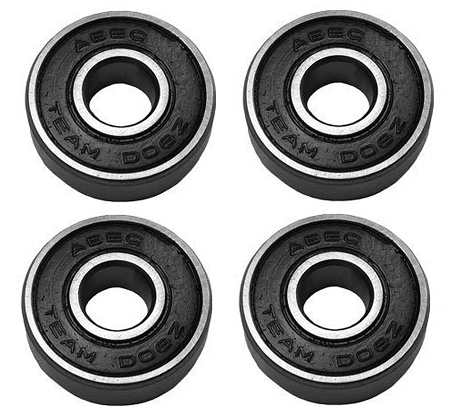 Team Dogz 608 ABEC 11 Wheel Bearings - Pack Of 4 - For Scooters and Skates