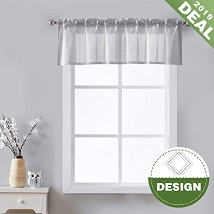 Sensational Kitchen Curtains For Windows 36 Inch Length Sheer Tier Curtain Set For Bathroom Ivory Half Window Curtain Panels Moroccan Pattern Cafe Curtains 2 Pc Interior Design Ideas Clesiryabchikinfo