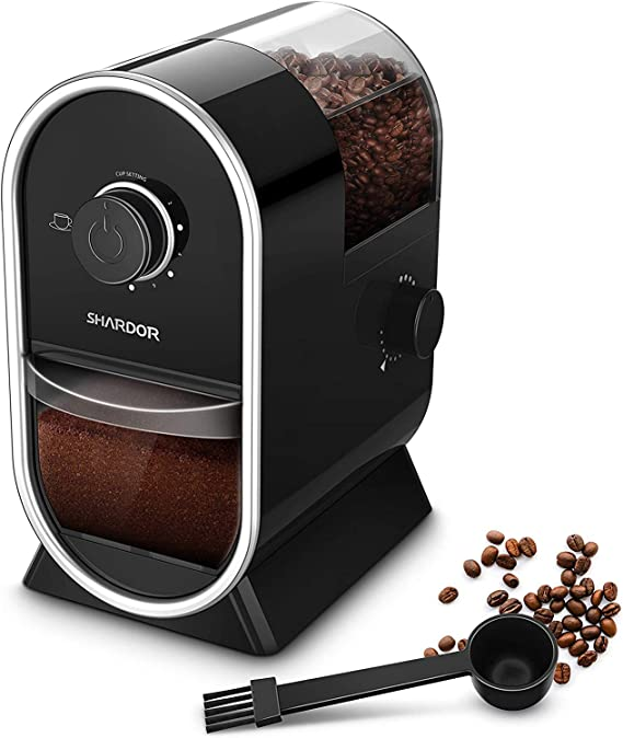 SHARDOR Electric Burr Coffee Grinder Mill 2.0 with 16 Adjustable Grinding
