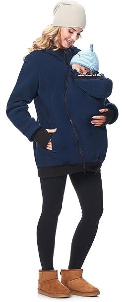 Be Mammy Premamá Chaqueta Abrigo Panel Extraíble Embarazo Maternidad Ropa Invierno Mujer BE20-181 (