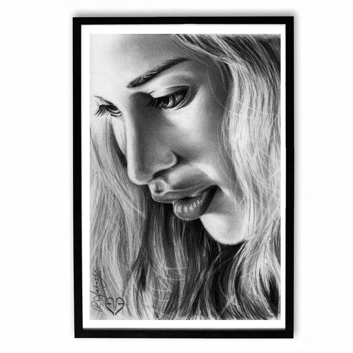 Speaking Walls Daenerys Targaryen Sketch Work Poster Unframed 12x18 Inches Amazon In Home Kitchen