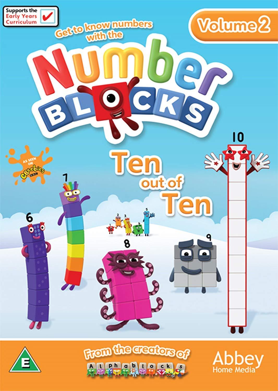 Amazon Com Numberblocks Ten Out Of Ten Dvd Movies Tv