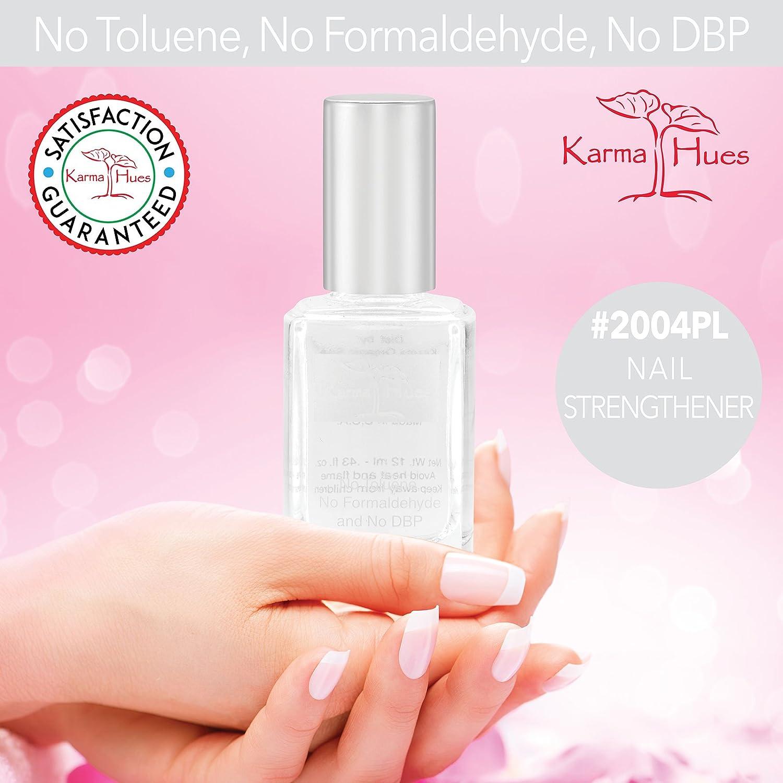 Nail Strengthener - Nail Polish; Non-Toxic, Vegan, and Cruelty-Free