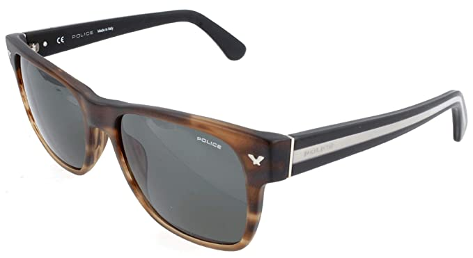 Police Sonnenbrille SPL165M Gafas de sol, Marrón (Braun ...