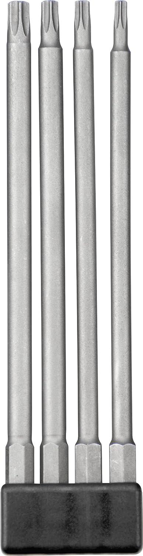 kwb 120930 punta de destornillador 4 pieza(s) - Puntas de destornillador (4 pieza(s), Torx, T15,T20,T25,T30, 15 cm, 25,4/4 mm (1/4'), Hexagonal) 4/4 mm (1/4)