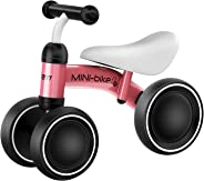 GRM Baby Balance Bike Children Walker for 10-24 Month, Baby Bicycle for 1 Year Old, Toddler Riding Scooter No Pedal Training