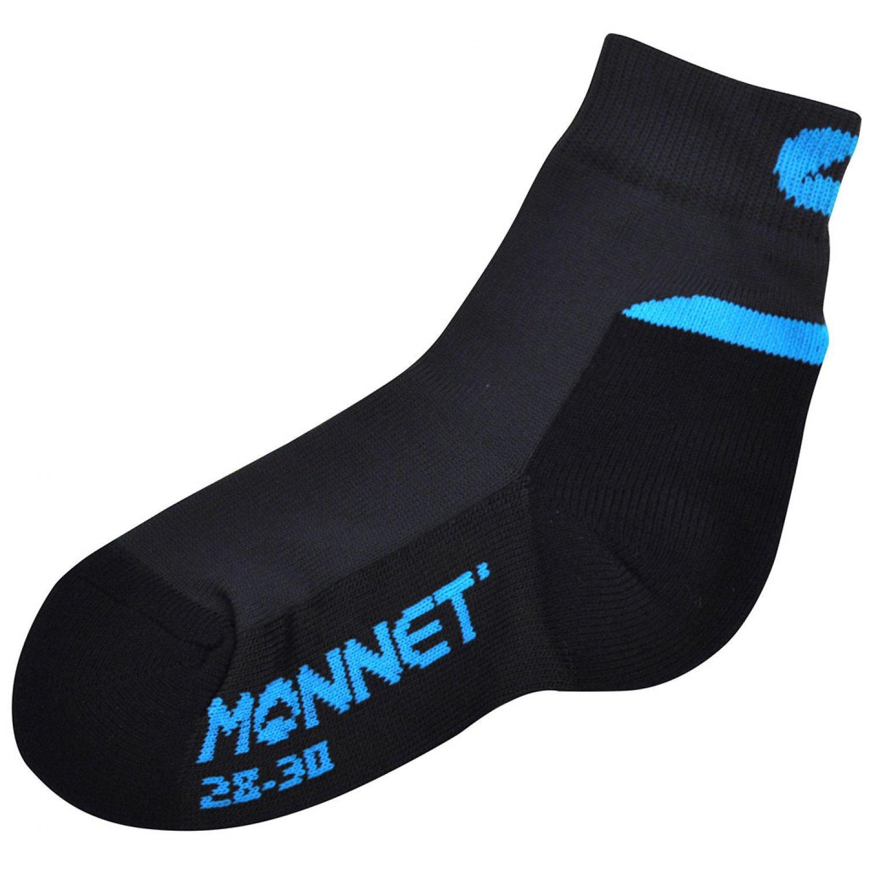 MONNET - Chaussettes DE Randonnee - Mid Junior - Noir/Gris/Turquoise - 22/24
