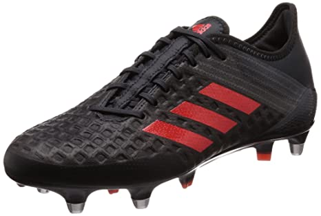 official photos cfa7d 7a768 Adidas Predator Malice Control Rugby Boots - Black Red - UK 9  Amazon.ca   Sports   Outdoors