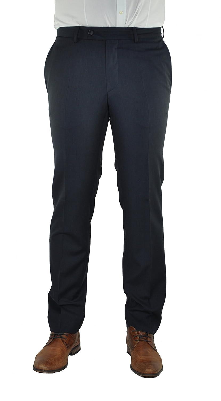 Daniel Hechter - Modern Fit - Herren Baukasten Anzug Hose aus Guabello Super 120'S Schurwolle (H 40250-100103) B071KG9LNT Anzughosen Personalisierungstrend