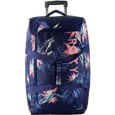 Bolsa de viaje con ruedas Roxy - 2 ruedas - 58 L): Amazon.es ...