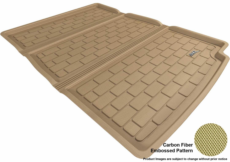 L1BM05301502 F01 Tan Kagu Rubber Models 3D MAXpider Complete Set Custom Fit All-Weather Floor Mat for Select BMW 7 Series