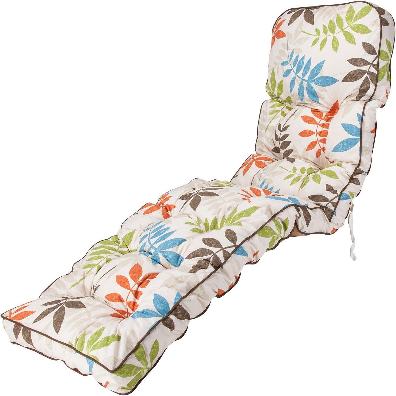 Alfresia Classic Sun Lounger Cushion in Blue