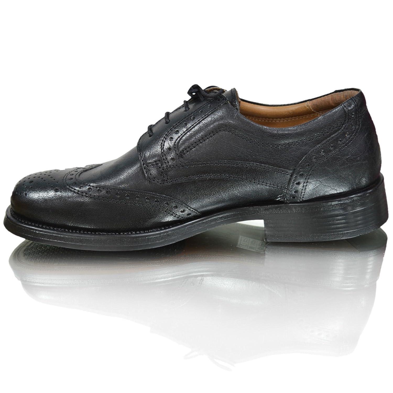 Oaktrak Pinham Noir, Brun Ou Peau Castagnia Richelieu Chaussures Oxford Travail Des Hommes, Brun, Taille 41.5