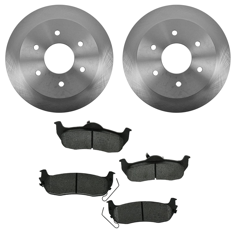 Titan Front Brake Rotors For Infiniti QX56 Nissan Armada Pathfinder Armada