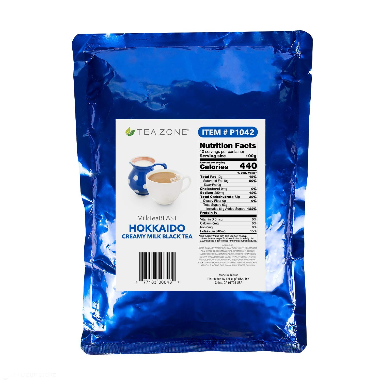 Amazon.com: Tea Zone MilkTeaBLAST Hokkaido Creamy Milk P1042 ...