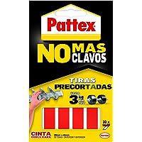 Pattex - 1403702 - Pack van 10 dubbelzijdige zelfklevende strips