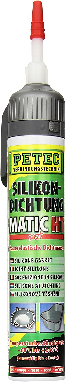 Petec 97820 Silikondichtung Matic Ht 200 Ml Rot Auto