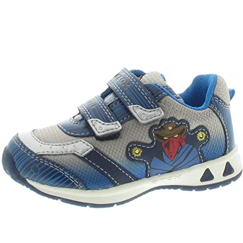 Geox - Mocasines para niño, color gris, talla 25: Amazon.es: Zapatos y complementos