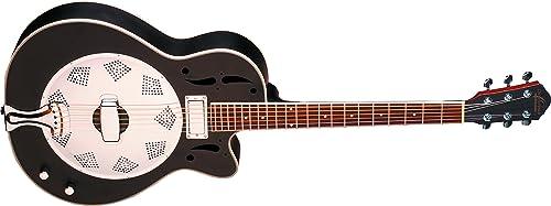 Oscar Schmidt OR6CEB-O-U Acoustic Electric Resonator Guitar