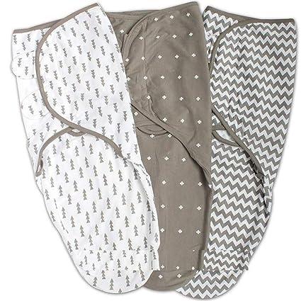 Manta de saco ajustable para envolver bebé con Velcro Boy Girl, Recién nacido Manta de