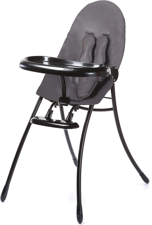 Bloom Urban Highchair (Black Frame with Snakeskin Grey)