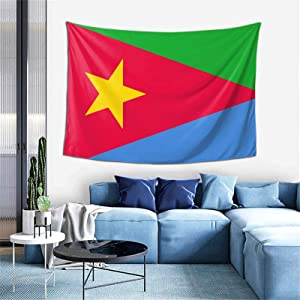Eritrean People S Liberation Front Indoor Tapestry Wall Blanket Tapestry For Bedroom Living Room 60 X 40 Inch Nail Included